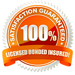 Licensed, boneded and insured