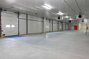 Commercial garage door repair service in McHenry, IL