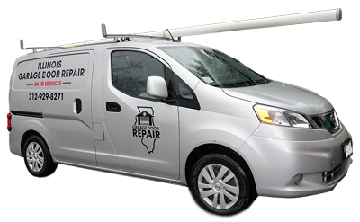 Garage Door Repair Truck