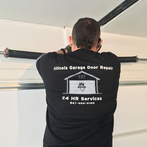 Garage door repair service in Chicago, IL area
