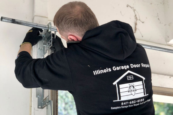 Garage door installation in Darien, IL area
