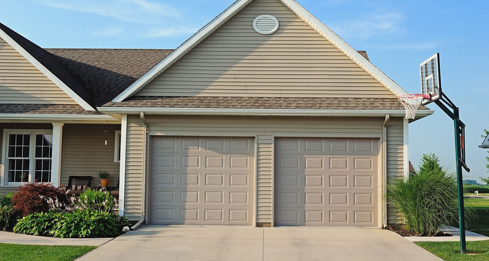 Raised Panel Garage Door