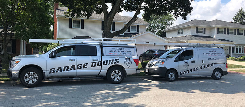 Garage door repair service in Batavia, IL area